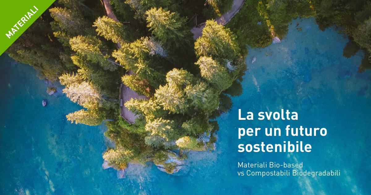 Packaging ecosostenibile. Compostabile e biodegradabile.